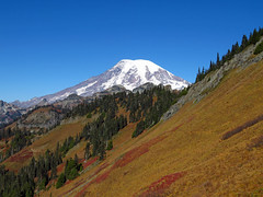 Mt. Rainier at Tatoosh Ridge in WA (Landscapes in The West) Tags: tatooshridge trail hike washington pacificnorthwest landscape west tatooshwilderness tatoosh mountains mountrainier