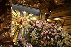 Grotte di Castro, la Madonna del Suffragio dopo i festeggiamenti decennali torna nella Sua Gloria, e tale evento si ripeterà fra 10 anni e precisamente il 7 settembre 2028. (oscar.martini_51) Tags: grotte di castro tuscia viterbo