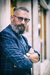 Manny (Al Fed) Tags: 100strangers 20181111 athen athens beard beyond greece man manny 499