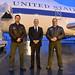 Mattis Greets Service Members, Departs Prague