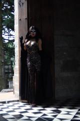 Muerte del alma (felix-tigris1) Tags: modelo model soul alma sensuality sensualidad antifaz mask catrina outfit disfraz costume graveyard panteón cementerio woman mujer muerte halloween dead death máscara young joven belleza beauty
