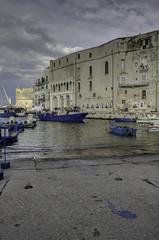 Puglia 2016-102 (walter5390) Tags: puglia apulia italia italy south sud meridione meridionale monopoli porto docks port harbour boats barche fishing sunset tramonto architettura architecture