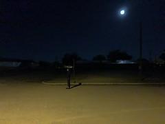 (DanThompsonHB) Tags: handheld iphonexs godbold shadow moonlight texas marfa