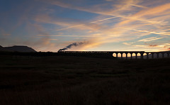 Indian summer (Robert France) Tags: 2018 35018 merchantnavyclass battymoss britain british britishindialine britishindialines charter dales dusk england heritage locohauled locomotivehauled merchantnavyclasssteamengine merchantnavyclasssteamlocomotive passengertrain preservation preserved publictransport rail railroad rails railtour railway railwayviaduct railways ribblehead ribbleheadviaduct rural sc settlecarlisle settletocarlisle silhouette silhouettes southernrailwaysteamengine special steam steamengine steamloco steamlocomotive sunset sunsets tourist tourists train trains transport travel traveling uk viaduct wcrc westcoastrailway westcoastrailways yorkshire