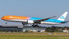KLM B777 (Green 14 Pictures) Tags: 18l36r 36r 777 777300er 77w ams avgeek avporn aalsmeerbaan aircraft airline airlines airport airways amsterdam amsterdamairportschiphol ariplane aviation blue boeing boeing777 boeing777300er eham holland kl klm koninklijkeluchtvaartmaatschappij orangepride phbva royaldutchairlines runway18l36r runway36r schiphol schipholairport special speciallivery thenetherlands noordholland nederland nl