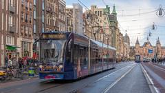 Amsterdam Netflix Christmas tram 2100_ (Rob Dammers) Tags: amsterdam noordholland nederland nl kerst tram christmas 2018 netflix