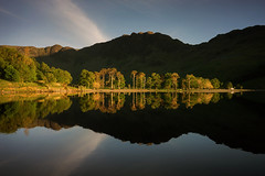 The Last Light On Buttermere (.Brian Kerr Photography.) Tags: cumbria lakedistrict buttermere light trees mountains reflections photography landscapephotography outdoorphotography briankerrphotography
