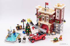 LEGO Creator Expert 10263 Winter Village Fire Station (hello_bricks) Tags: lego creatorexpert 10263 winter village fire station