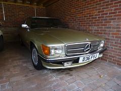 1986 Mercedes Benz 500 SL Auto (Neil's classics) Tags: vehicle 1986 mercedes benz 500sl
