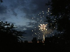 fireworks | July 4, 2018 | spring grove, flint mi | taken on iPhone 6 (saragabejohnson) Tags: fireworks 4thofjuly independenceday