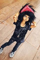 Street Boy (Chantepierre) Tags: bjd balljointeddoll balljointed doll fc fullcusto full custo custom chantepierre ladicius tan tanskin skin luts kid delf kdf bory boy