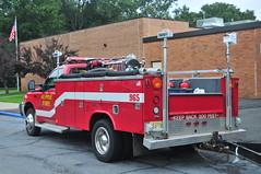 Alpine Fire Department Brush 965 (Triborough) Tags: nj newjersey bergencounty oldtappan afd alpinefiredepartment firetruck fireengine engine brushtruck brush brush965 ford fseries f450 reading steelfab