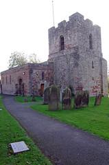 St Michael's Church, Burgh by Sands, Cumbria, England (tosh123) Tags: church burghbysands building architecture worship listedbuildingd cumbria uk england edwardl grave graveyard path