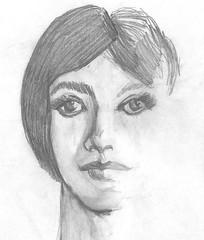 firm face pencil (DREADNOUGHT2003) Tags: pencil doodle chalk paints drawings art sketch