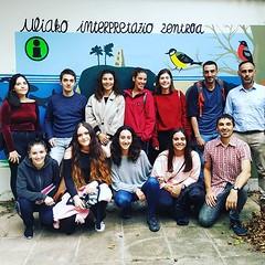 #ulia preparando el calendario de la #sostenibilidad con la fundación Cristina Enea