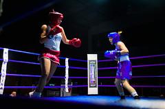 37222 - Face off (Diego Rosato) Tags: boxe boxing pugilato boxelatina ring match incontro rawtherapee nikon d700 2470mm tamron pugno punch face off femminile women