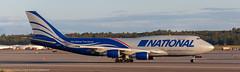National 747 at ANC (Alaskan Dude) Tags: travel alaska anchorage anchorageinternationalairport airplane airplanes airliners aviation planes planespotting planewatching
