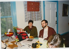 1995_Thanksgiving_Austin_Liz_Jerry_Jen (Ken_Mayer) Tags: mayer family vinsonhallclearout