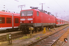 DB 143317-6 (bobbyblack51) Tags: db class 143 lew bobo electric locomotive 1433176 ddr 2433175 bw essen 2001