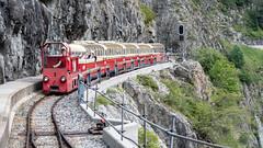 Emosson Tourist Train Chateaux d'Eau 09 July 2018 (66) (BaggieWeave) Tags: switzerland emossontouristtrain funicular chatelard finhaut valais ch montblanc