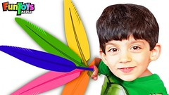 Playing with Colors Feathers, Funny Kids Pretend Play (benhxuongkhopvn) Tags: children colors colours feather feathers fun funny funtoysmedia jason kids play playing pretendplay