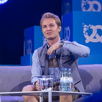 Nico Rosberg speaks at an interview at the Bits & Pretzels Festival thumbnail