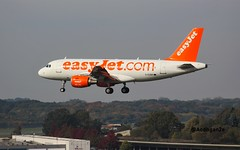 EasyJet   G-EZBR   Airbus A319-111 (aodhgn_tuohy) Tags: easyjet airbus a319 a319111 passenger jet aviation landing hamburg germany ham airline