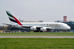 Airbus A380-861  A6-EDK — Emirates Airlines (Wajdys) Tags: airbus a380861 a6edk emiratesairlines a380 a388 emirates airlines airplanes aircrafts aircraft 4engines jet road runway flight travel transport cn030 series861 prglkpr vaclavhavelairportprague ruzyně ruzyne letiště letisko flughafen airport praha prague praga prag eu europe czechia czech spotter spotters planespotting photography photographer photo airfleets arrivals departures airliners plane planes a380800 airbus380 amazing invitation flickr cool avión aviones followme