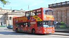 City Sightseeing Edinburgh - 505 (Hesterjenna Photography) Tags: lothian buses trident open top double decker with plaxton president bodywork t505ssg bus psv coach sightseeing edinburgh opentopbus tourist