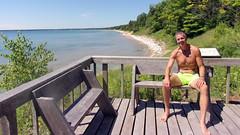 100_0074 (Gregg MP) Tags: swimsuit barefoot feet shirtless beach