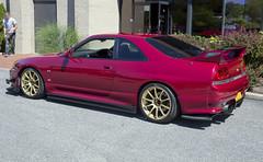 1995 Nissan Skyline GT-R (vetaturfumare - thanks for 3 MILLION views!!!) Tags: nissan skyline jdm r33 1995 vspec superclearred newyork lowered gtr