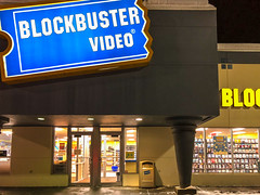 The Few That Remain: An Open Blockbuster Video Store in Fairbanks, Alaska, February 2018 (willbuckner) Tags: 44collegerd 44collegeroad 99701 ak alaska bbliquidatinginc bbi bankruptcy bentleymall bentleytrust bentleytrustrd bentleytrustroad blockbuster blockbusterentertainment blockbusterllc blockbustervideo college comedy dvd dvdrental dvdbymail davidcook dish dishnetwork fairbanks february hamiltonacres interioralaska labels netflix ondemand photograph redbox slingtv uaf universityofalaskafairbanks vhs vhsrental xfinity action arctic arcticcircle cold drama entertainment franchise freepopcorn frozen home homevideo homevideorental latefee latefees movie movierental movierentals newreleases obsolete past popcorn retail snow streaming videogamerental videogamerentals videoondemand winter slaterville fairbanksnorthstarborough northstarborough retailsign fai