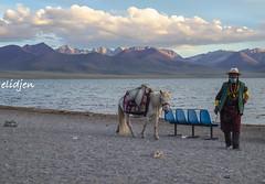 Namtso Lake, Tibet (elidjen) Tags: travel fuji tibet namtso lake