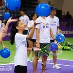 WTA Charities COME PLAY SC Global Teacher & Student clinic