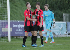 Lewes 2 Folkestone Invicta 0 20 10 2018-256-2.jpg (jamesboyes) Tags: lewes folkestoneinvicta football soccer fussball calcio voetbal amateur bostik isthmian goal score celebrate tackle pitch canon 70d dslr