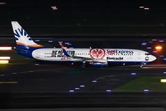 D-ASXB SunExpress Germany Boeing 737-8Z9 (buchroeder.paul) Tags: dasxb sunexpress germany boeing 7378z9 dus eddl dusseldorf international airport europe ground night