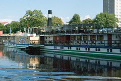 Meissen (stephengg) Tags: germany free state saxony dresden river elbe paddle steamer boat meissen