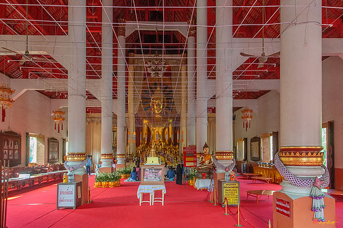 Wat Phra Singh Phra Wihan Luang Interior (DTHCM2540)