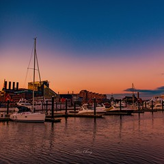 Baltimore Sunset (still_shotz) Tags: sunset boats innerharbor maryland baltimore