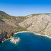 Luftbild Nikolaos Strand Hydra