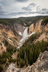 Grand Canyon of the Yellowstone (pauliefred) Tags: yellowstonenationalpark wyoming unitedstates us grand canyon yellowstone grandcanyonoftheyellowstone waterfall