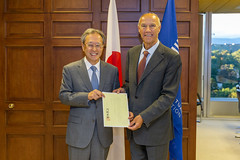 Japan Joins Marrakesh Treaty (WIPO | OMPI) Tags: assemblies bilateralmeeting directorgeneral francisgurry japan ompi wipo
