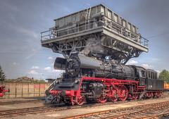 gut in Szene gesetzt (wolf238) Tags: 2310 steam dampflok dr steamengine locomotiveàvapeur vapore eisenbahn neubaulok deutschereichsbahn