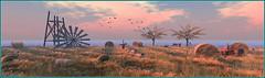 Moissonnage (Tim Deschanel) Tags: tim deschanel sl second life paysage landscape exploration arbre tree missing melody aftershock