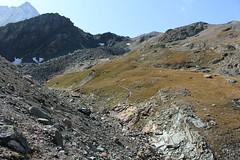 Tête Noire (bulbocode909) Tags: valais suisse valdesdix têtenoire montagnes nature sentiers paysages rochers vert bleu montblancdecheilon