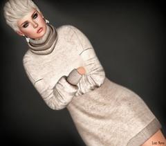Lori Novo (Lori Novo) Tags: lorinovo secondlife avatar virtual blogger october 2018 thaliaheckroth sweater opalehair