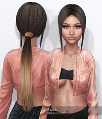 Opale Hair . Zara @ Mainstore Release (Opale HairStore) Tags: sl second life 3d opale hair saturday sale salon