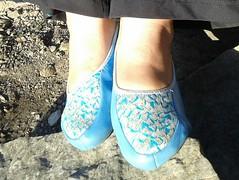 Gigi (6233) (Duke of Slippers) Tags: slippers slipperettes flats ballet shoes pumps pantofole pantoufles houseslippers travelslippers foldingslippers