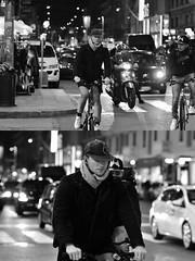 [La Mia Città][Pedala] (Urca) Tags: milano italia 2018 bicicletta pedalare ciclista ritrattostradale portrait dittico bike bcycle nikondigitale scéta biancoenero blackandwhite bn bw 115846