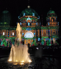 Berliner Dom (Gertrud K.) Tags: festivaloflights berlin night nightshot illumination huaweimate9 church